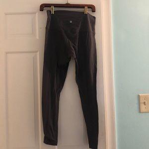 Grey Lululemon Align leggings